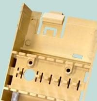 injection molded plastics