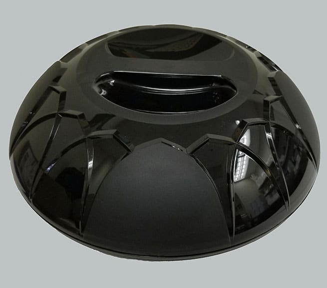 injection molded plastic dome