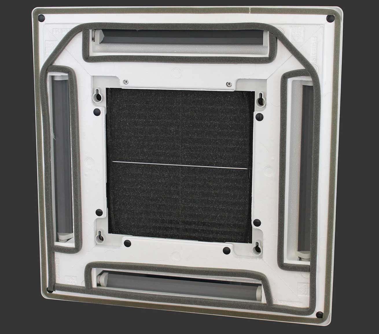 Multi-Material HVAC Component