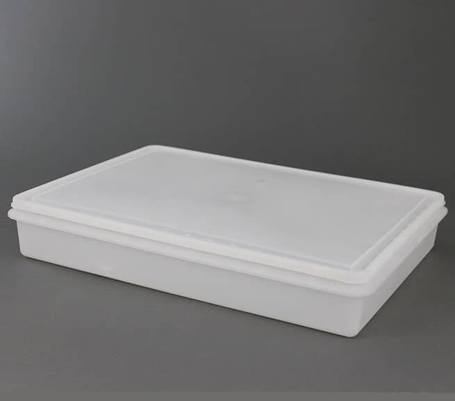 injected molded plastic seafood tray