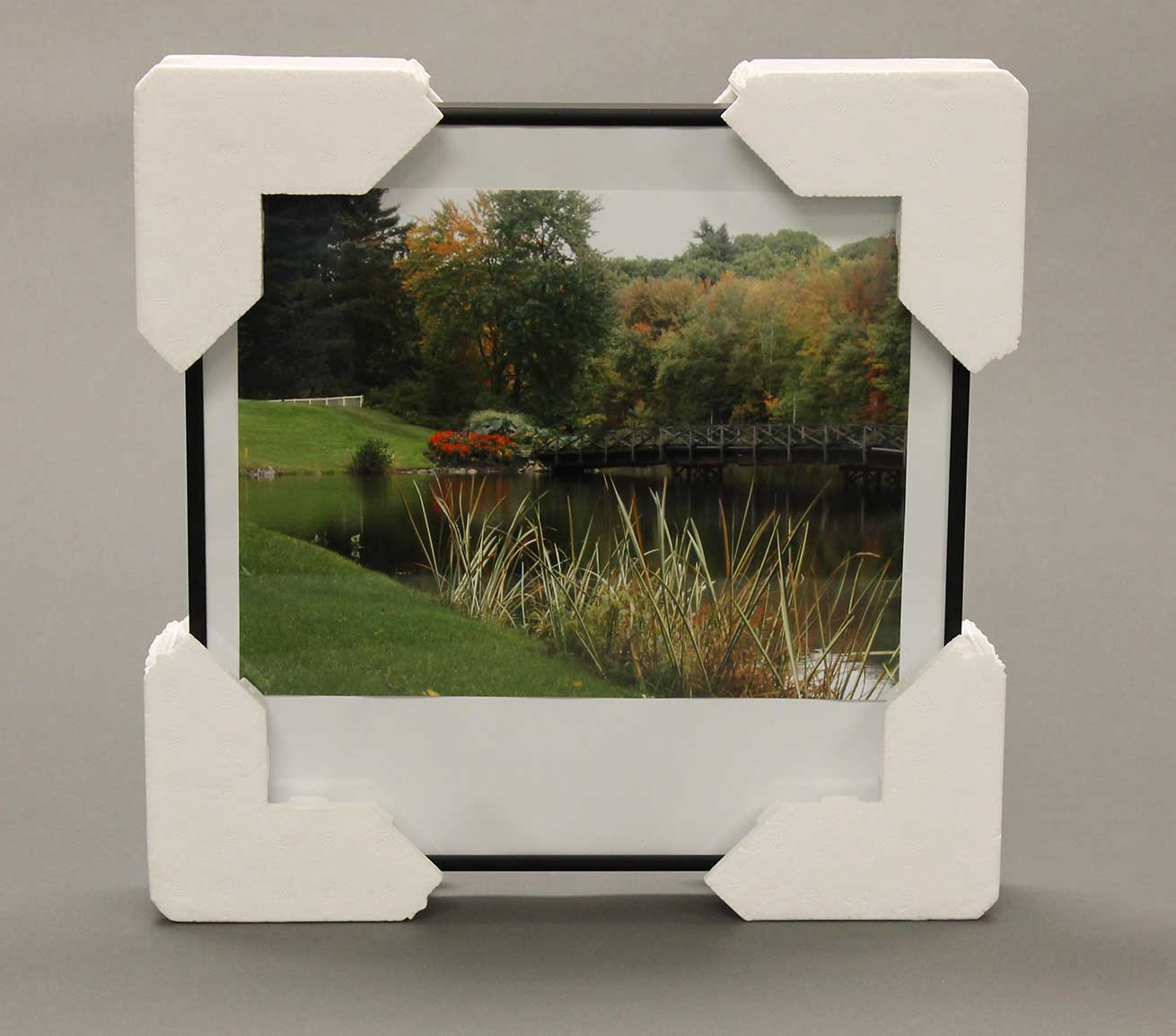 Picture frame corner protector